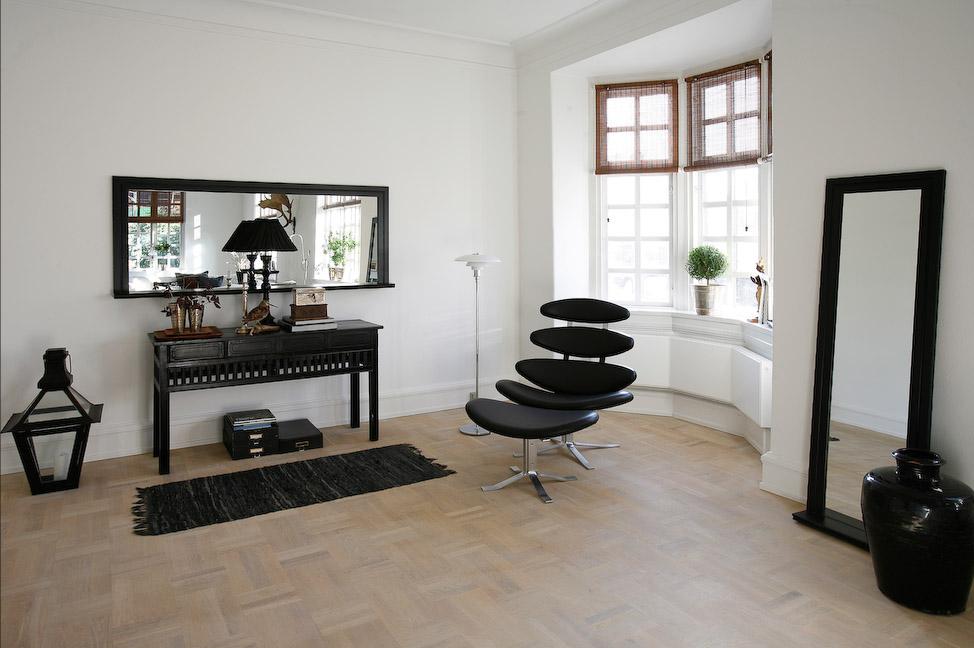 Living room design ideas for home times news uk for Monochrome living room ideas