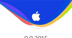Apple September 9 Event