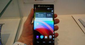 LG Curved edge display Phone leaked images