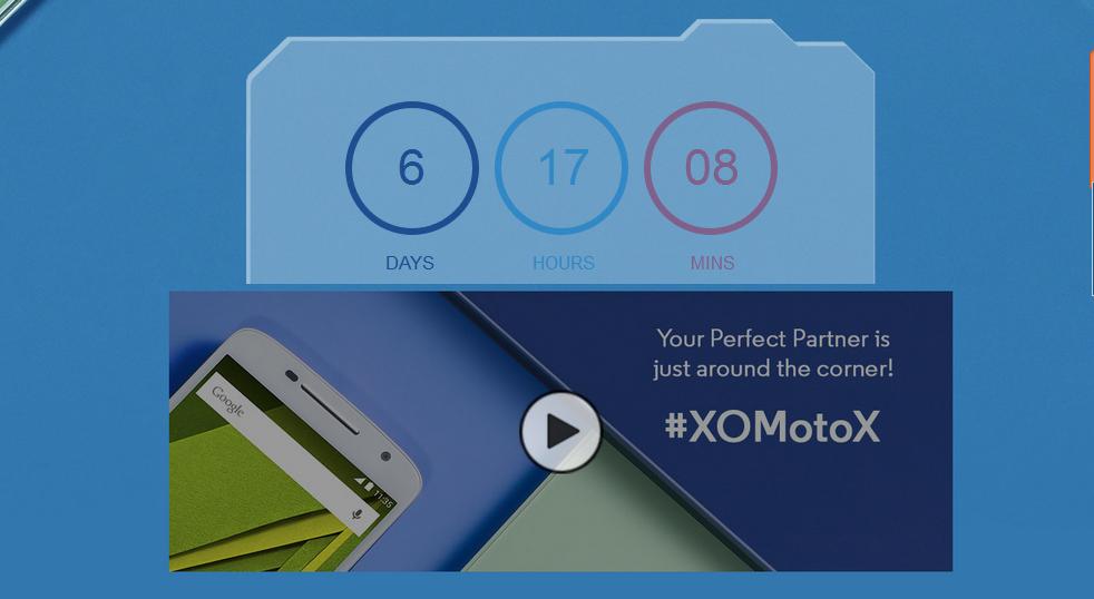Moto X Play India