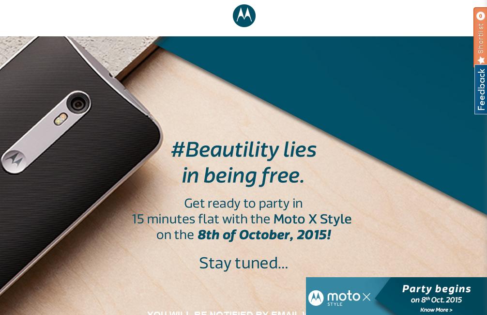 Moto X Style Flipkart Launch