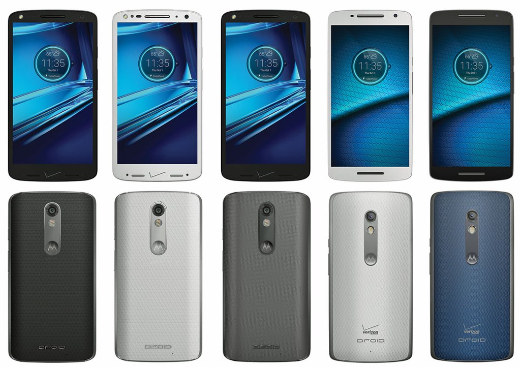 Motorola Droid Turbo 2 and Droid Maxx 2