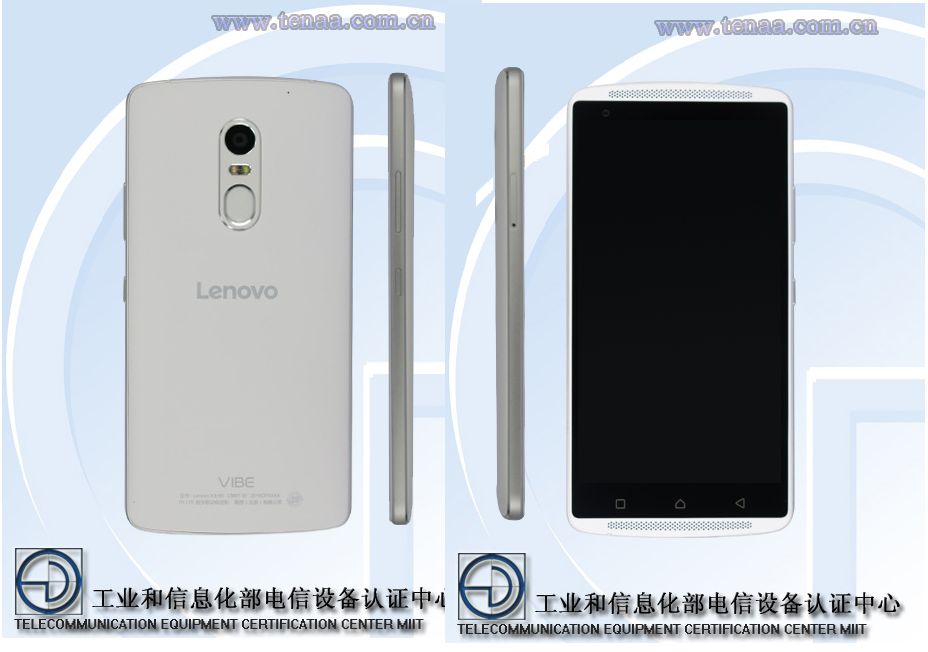 Lenovo Vibe X3 TENAA