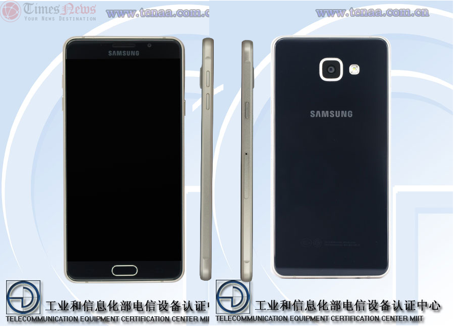 Samsung Galaxy A7 SM-A7100 TENAA