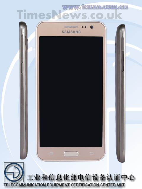 Samsung Galaxy J3 TENAA front
