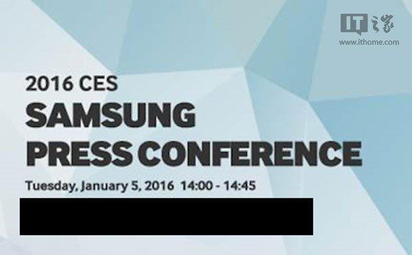Samsung CES 2016 Event