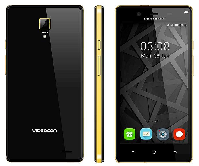 Videocon Infinium Z55 Krypton smartphone