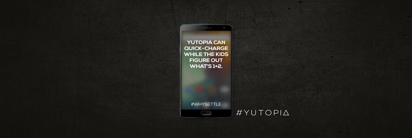 Yu Yutopia quick charge battery