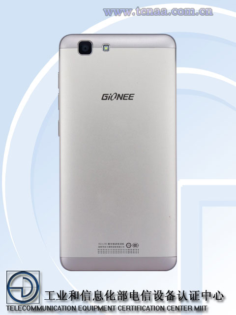 Gionee F105L visits TENAA With a 2400mAh Battery and 3GB ...