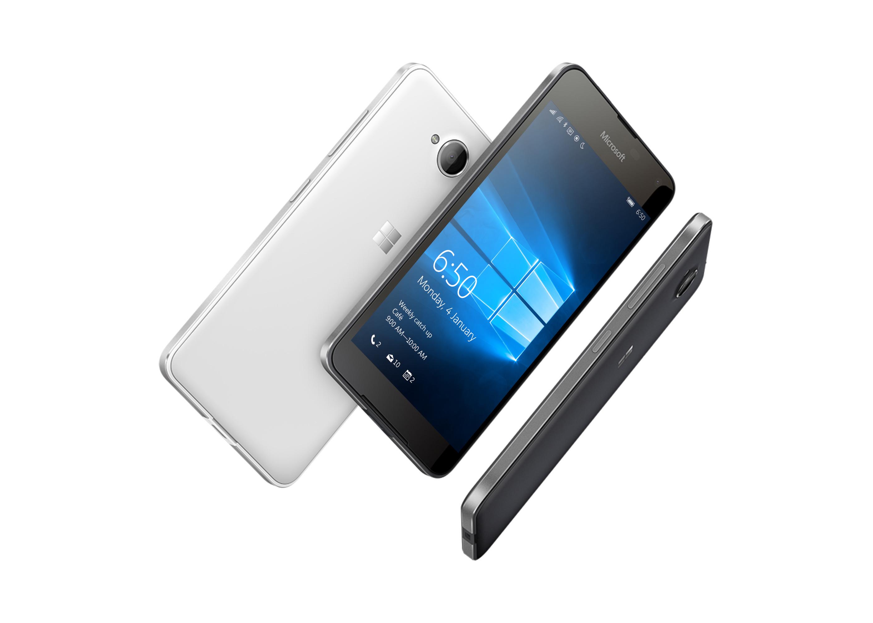 Microsoft Lumia 650 Windows 10 phone