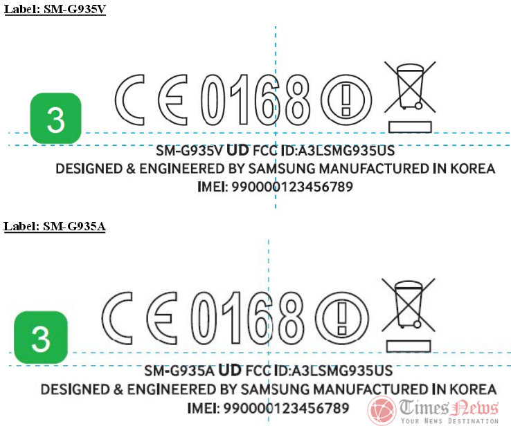 Samsung Galaxy S7 Edge SM-G935A FCC
