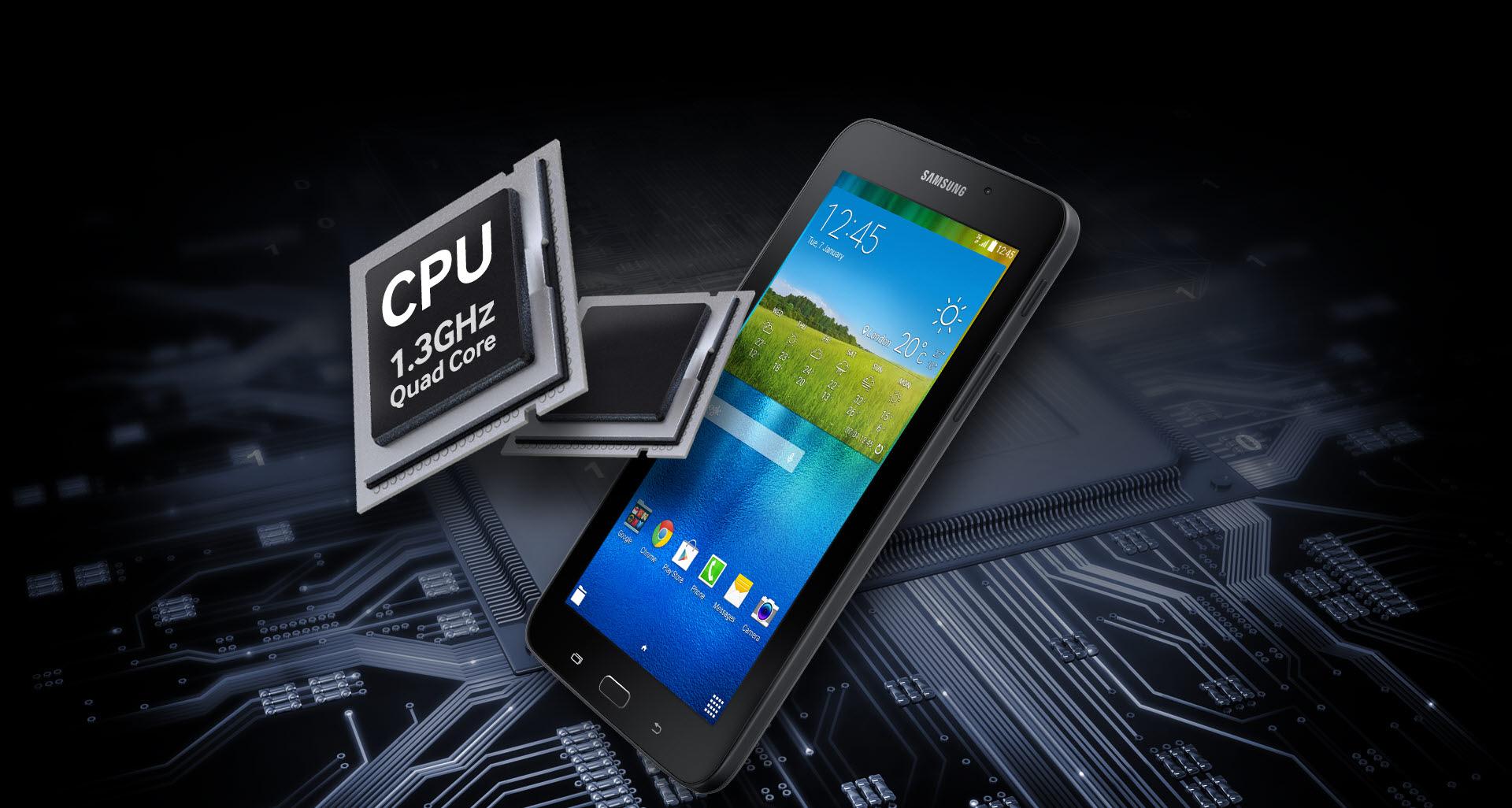 Samsung Galaxy Tab E 7.0 processor