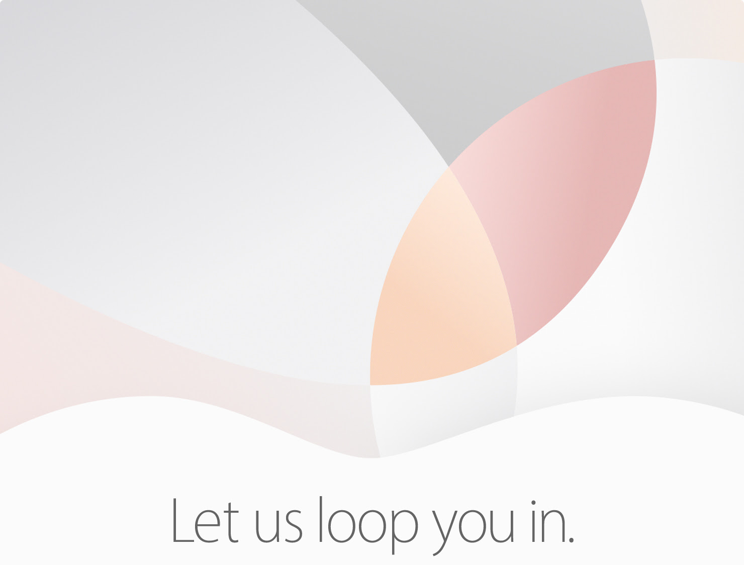 Apple march 21 event teaser