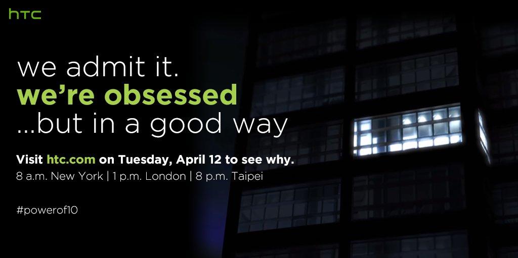 HTC April 12 Event