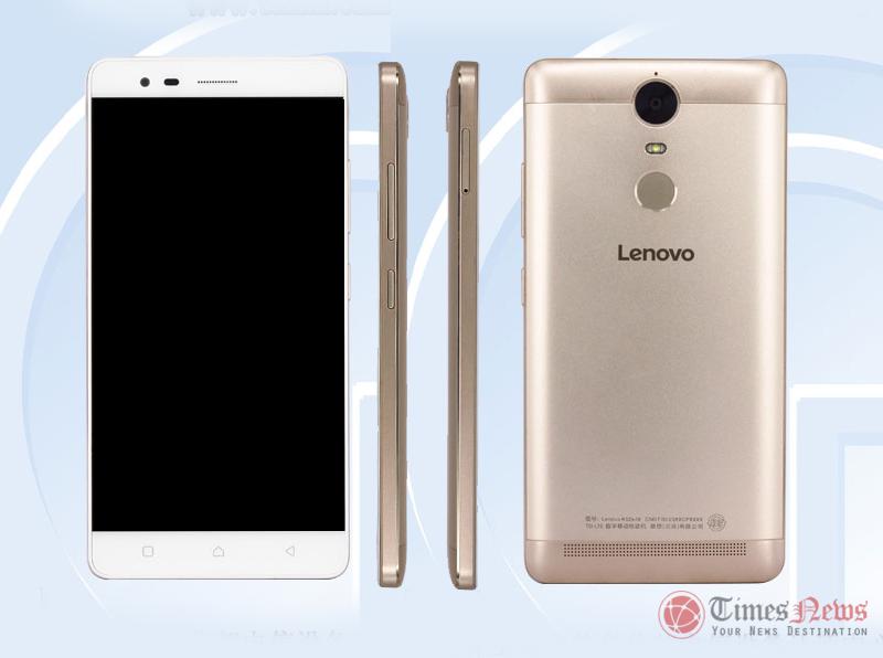Lenovo K52e78 with fingerprint scanner, 5.5-inch display ...
