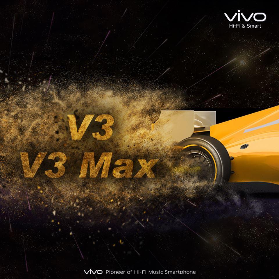 Vivo V3 and Vivo V3 Max Facebook teaser