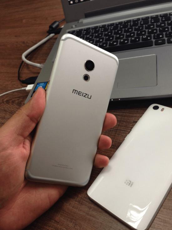 Meizu Pro 6 leaked back