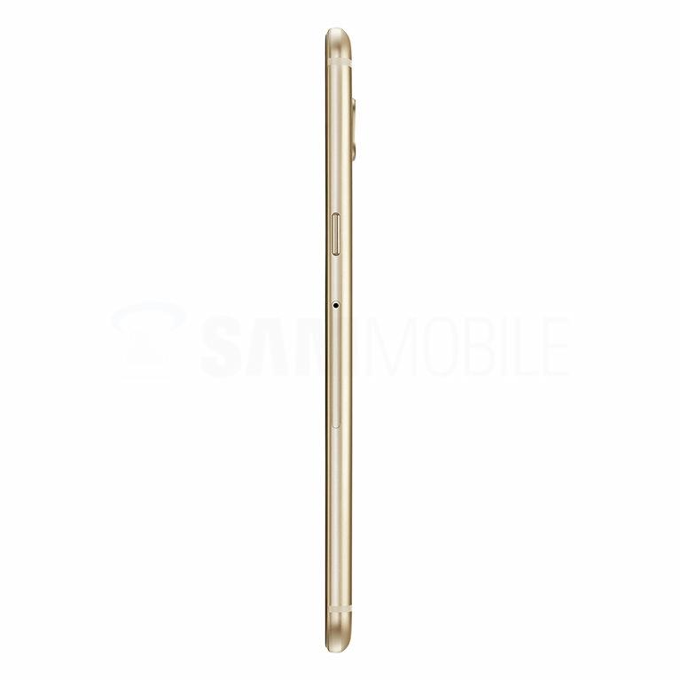 Galaxy C5 Gold side