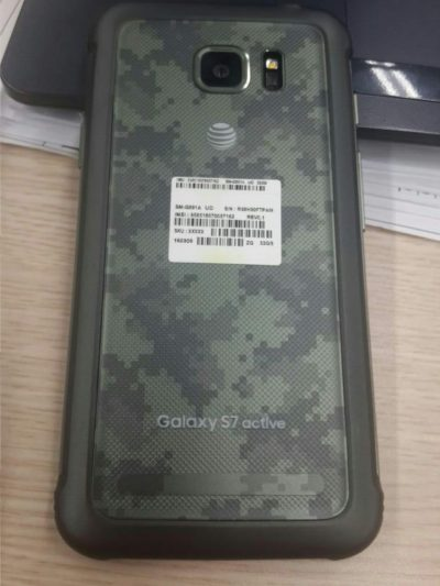 Samsung Galaxy S7 Active AT&T leaked