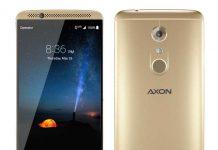 ZTE Axon 7 Ion Gold