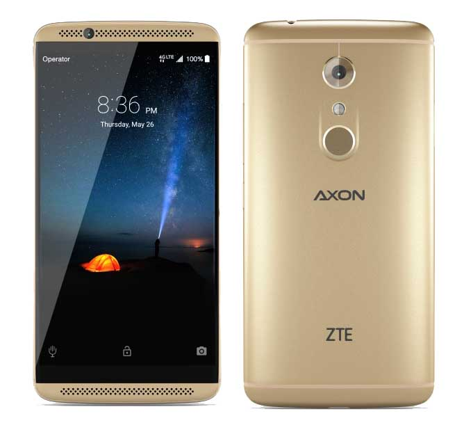 committing zte axon 7 china was