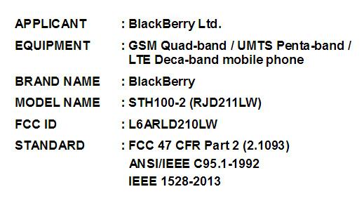 Blackberry Hamburg FCC
