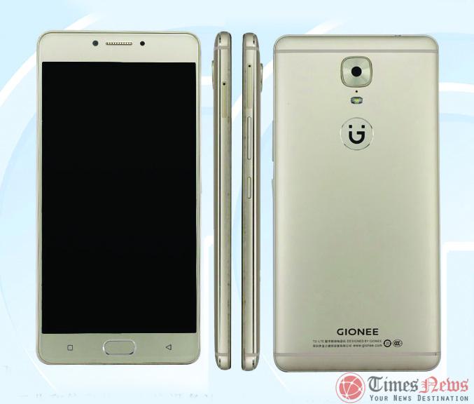 GIONEE GN8003 Gione M6 TENAA