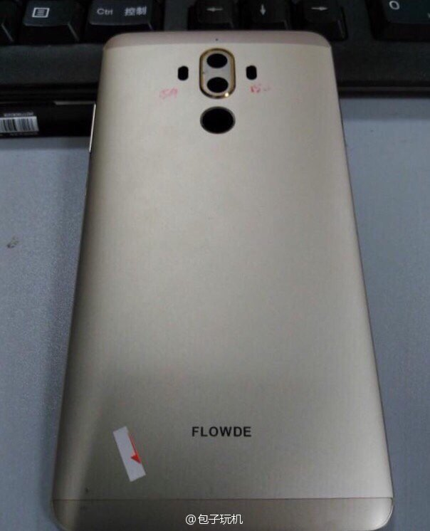 Huawei Mate 9 leaked chassis