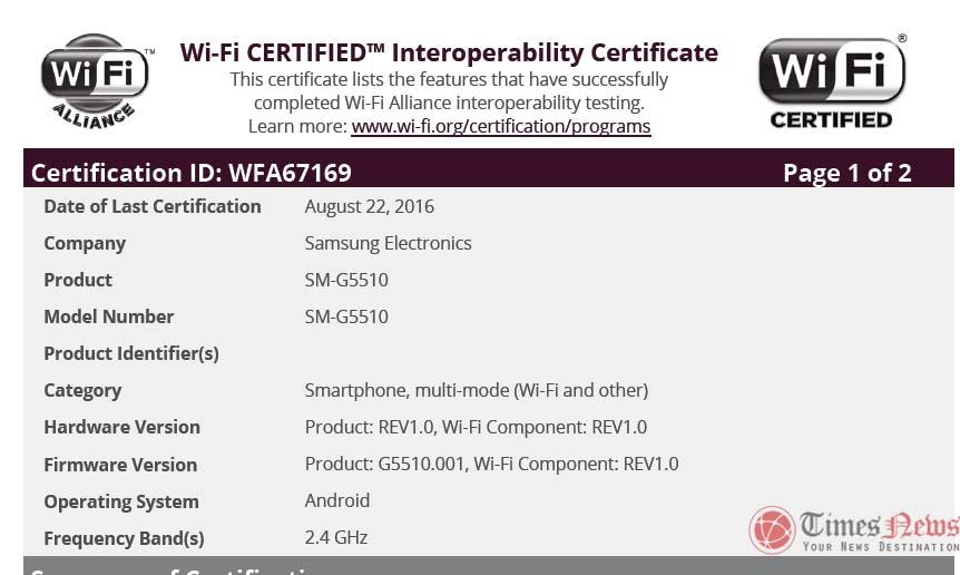 SM-G5510 WiFi