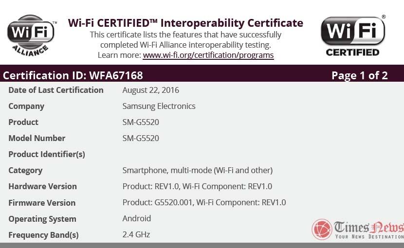 SM-G5520 WiFi