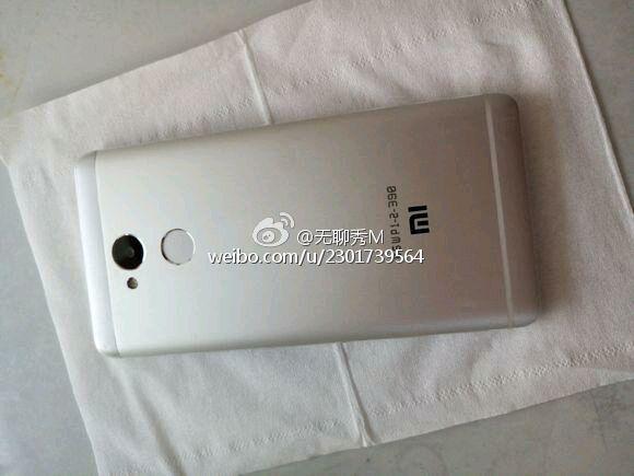 Xiaomi Redmi 4 leaked back