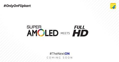 Galaxy on 2016 teaser Flipkart