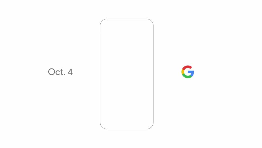 Google Pixel October 4 event teaser