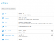 HTC 10 GFXBench with Android Nougat 7.0