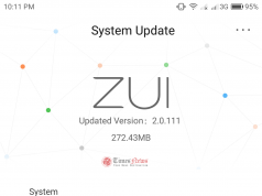 Lenovo Z2 Plus Android update