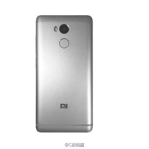 Xiaomi Redmi 4 leaked image