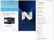 Android 7.0 Nougat update screenshot