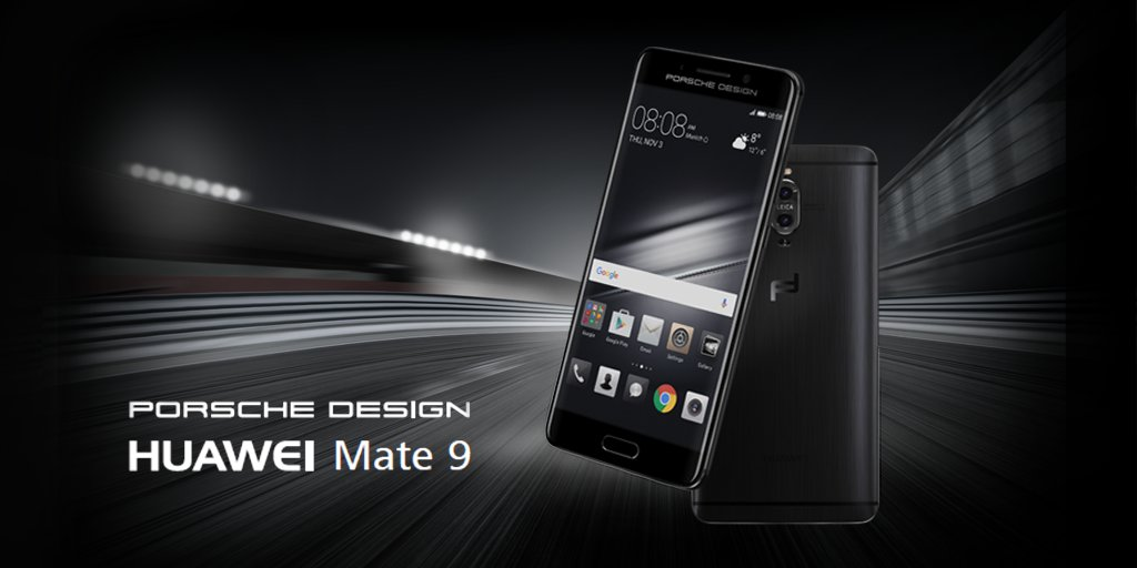 huawei mate 9 porsche design limited edition announced. Black Bedroom Furniture Sets. Home Design Ideas