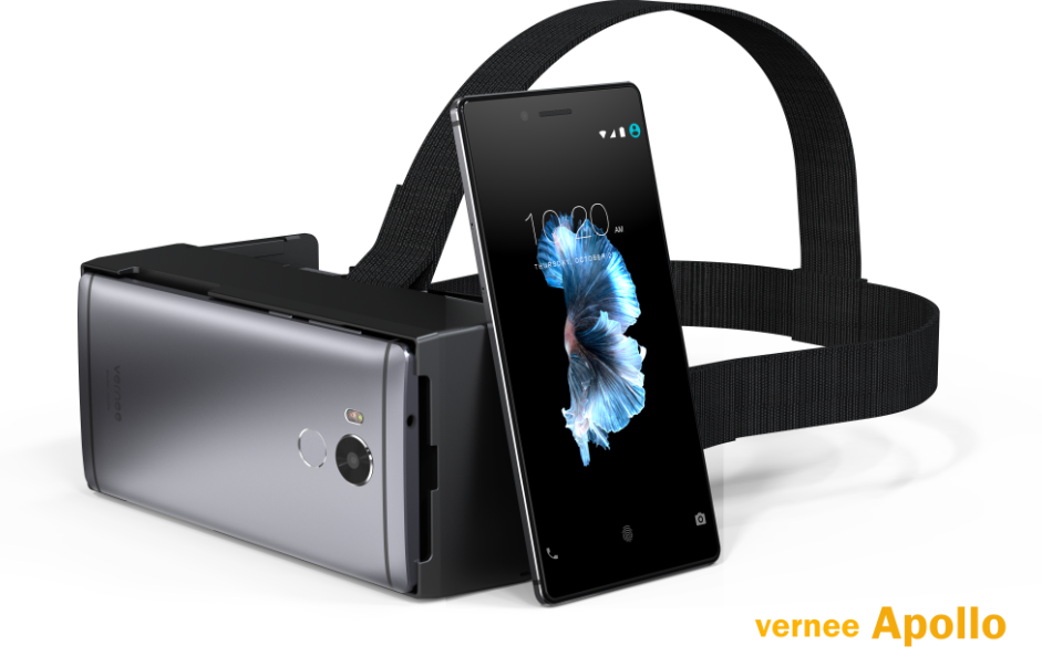 Vernee Apollo with VR Headset