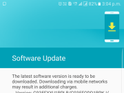 Galaxy S7 Edge new update