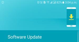 Galaxy S7 Edge new update