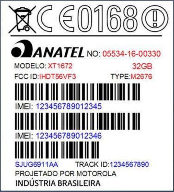 Motorola XT1672 FCC
