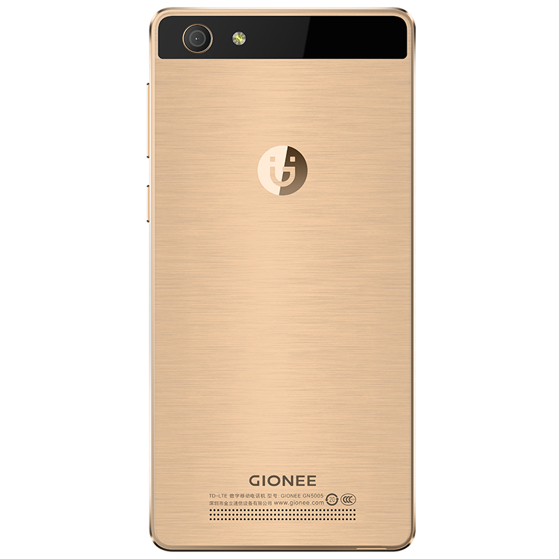 Gionee Steel 2 back