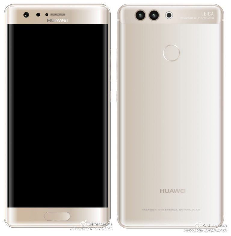 Huawei P10 Plus leaked