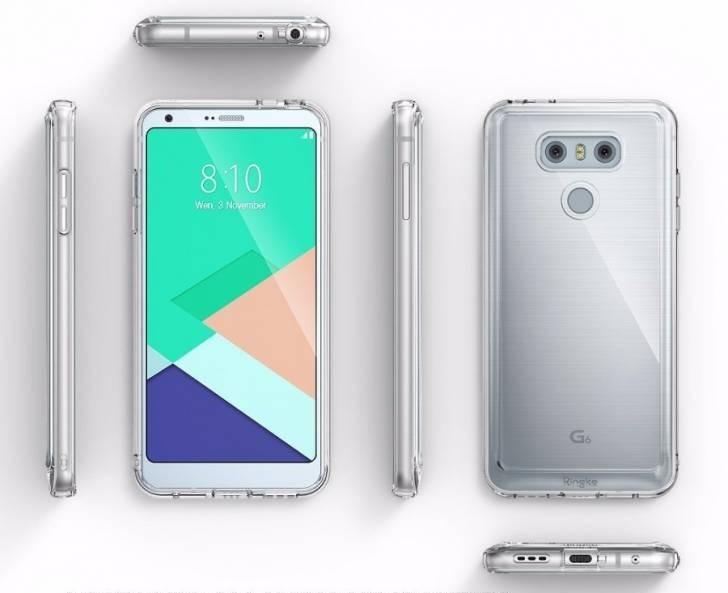 LG G6 leaked render