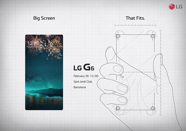 LG G6 teaser MWC 2017 February 26th